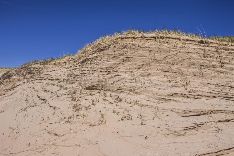 Песчанные дюны на южном острове Manitou стоковое фото rf