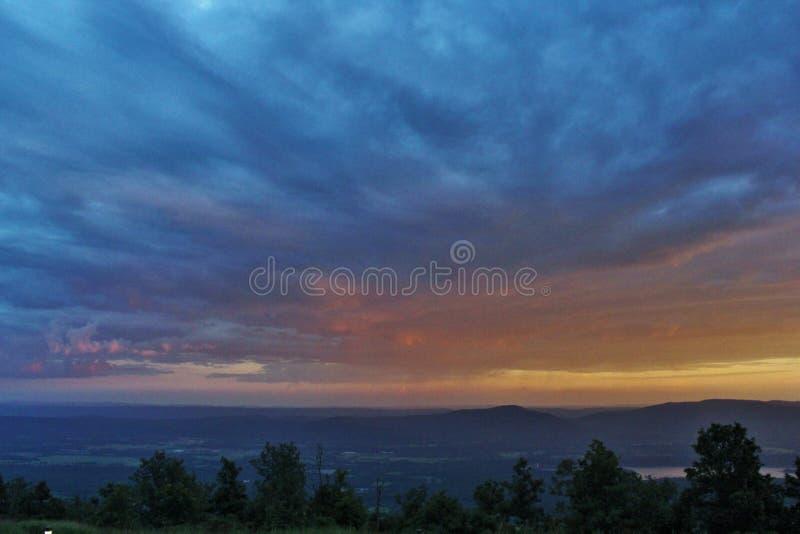 Петит Джин River Valley стоковые изображения rf