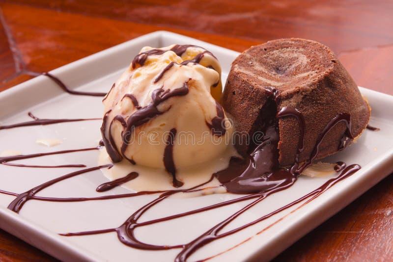 Петит десерт Gateau стоковое фото rf