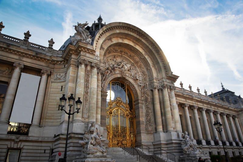 Петит Palais, Париж, франция стоковое изображение rf