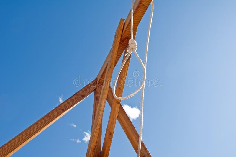 петля s hangman стоковые фото