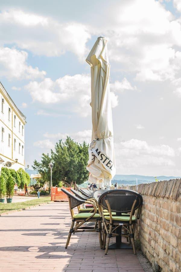 Петроварадин, Сербия - 17 июля. 2019 год: Петроварадинская крепость; стоковая фотография rf