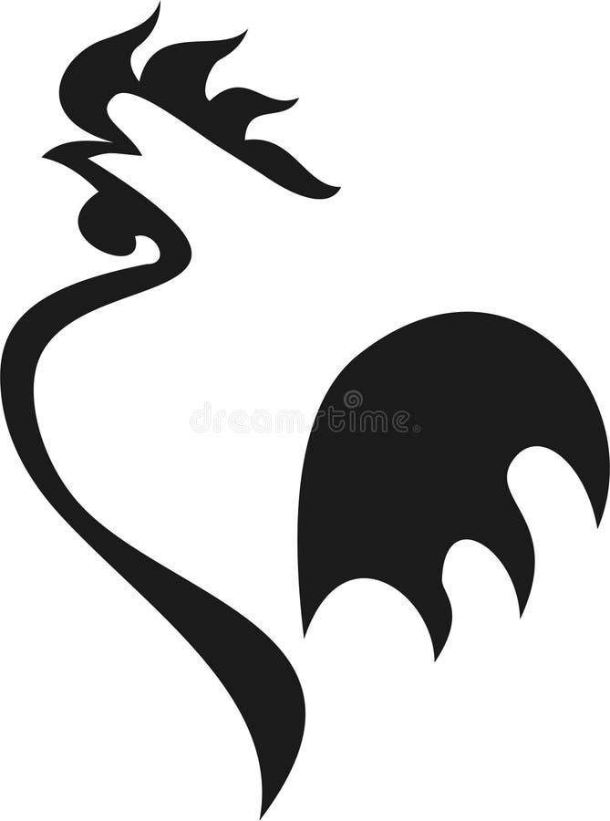 петух pictogram стоковые изображения rf
