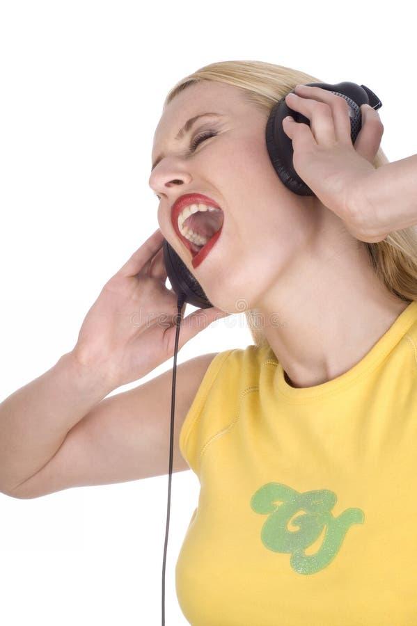 петь нот стоковое фото