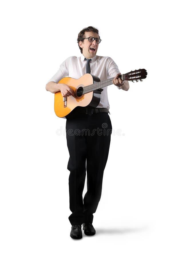 петь силуэта людей человека славный стоковая фотография
