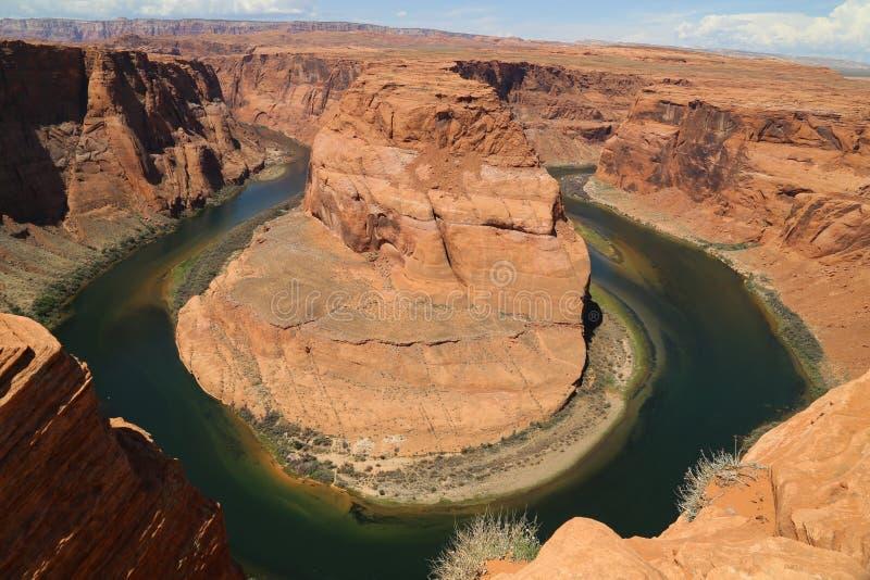 Петля реки стоковые изображения