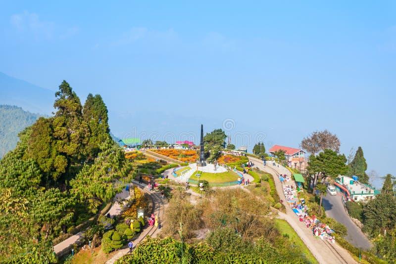 Петля Batasia, Darjeeling стоковая фотография rf
