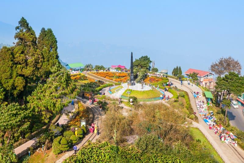Петля Batasia, Darjeeling стоковая фотография