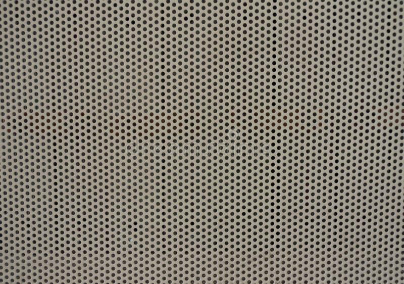 Пефорированный лист металла стоковая фотография rf
