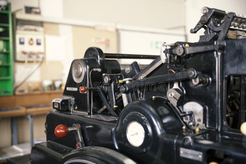 печатание машины старое стоковые изображения rf