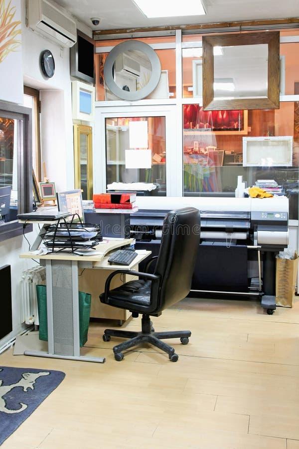 печатание офиса стоковые фотографии rf