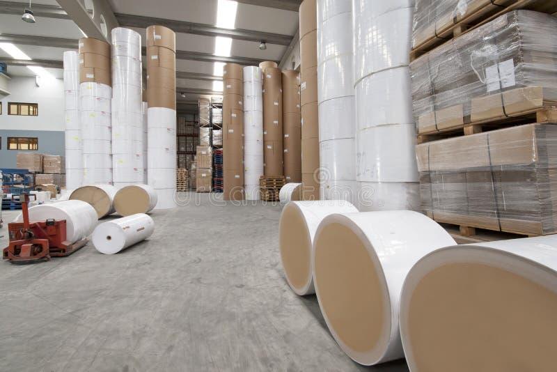 печатание промышленного завода стоковая фотография rf
