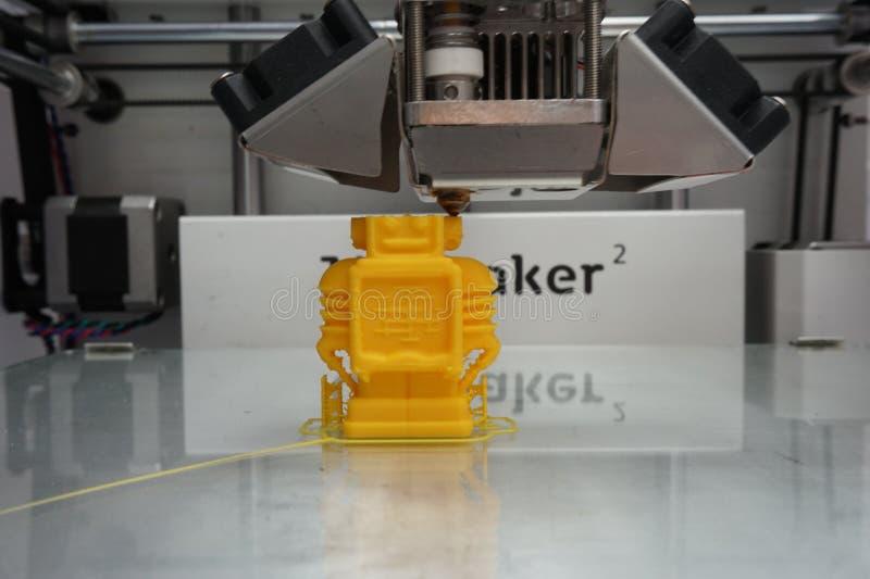 печатание 3d стоковое фото rf