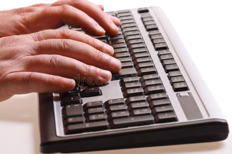 Download печатать на машинке клавиатуры Стоковое Изображение - изображение насчитывающей ключи, keypad: 6868427
