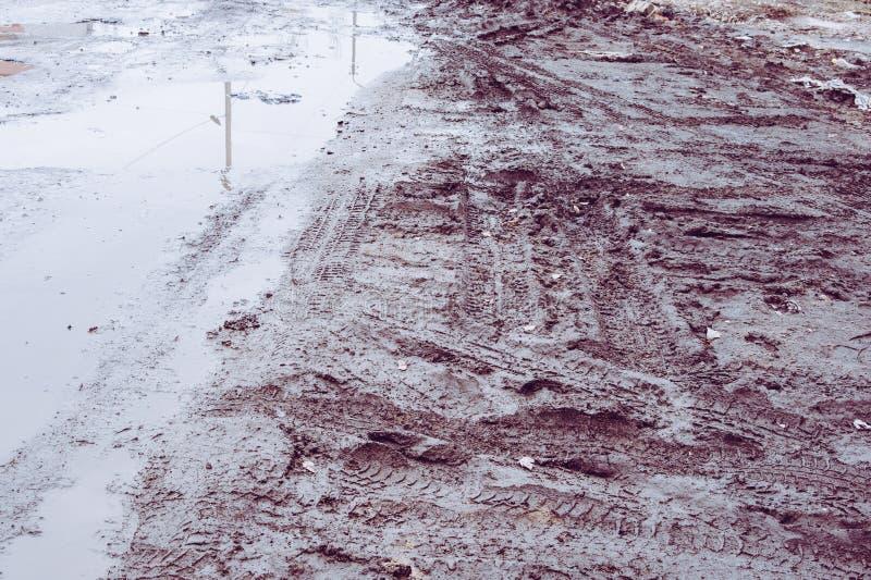 Печати в грязи стоковые изображения