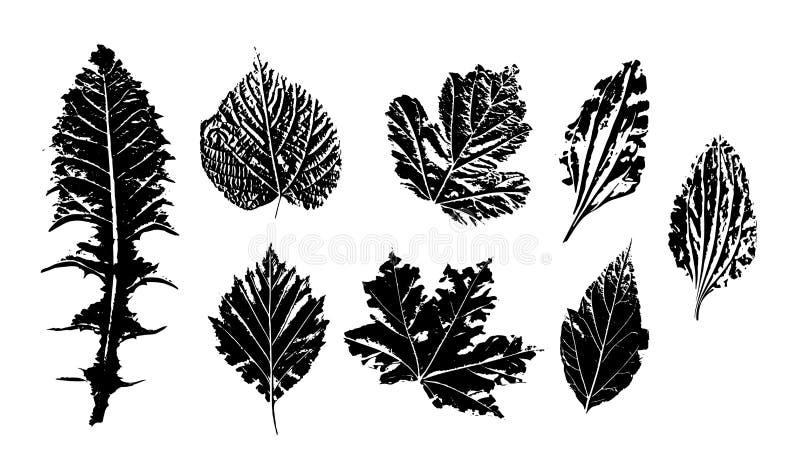 Печати лист чернил бесплатная иллюстрация