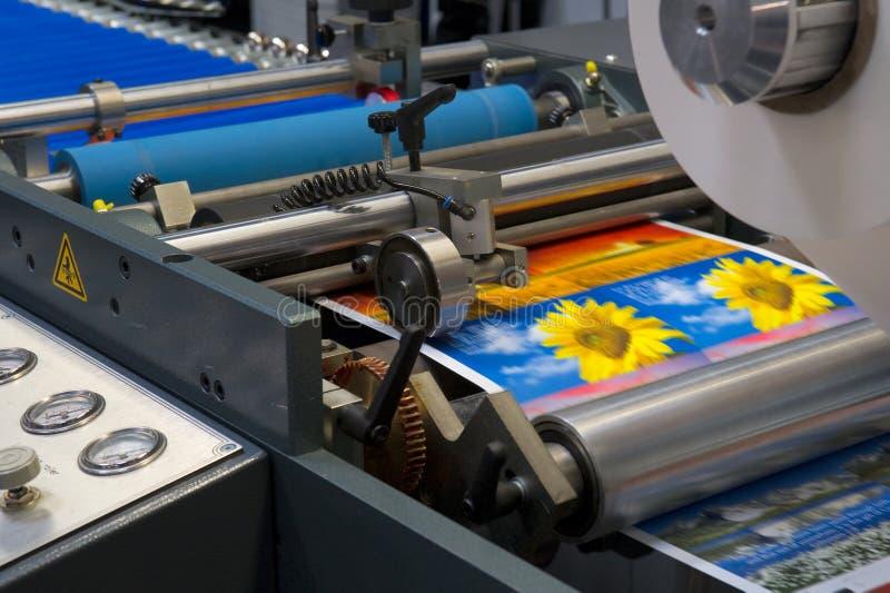 Печатная машина стоковые фото