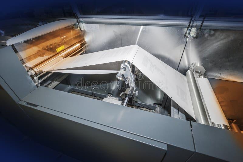 Печатный станок стоковые изображения