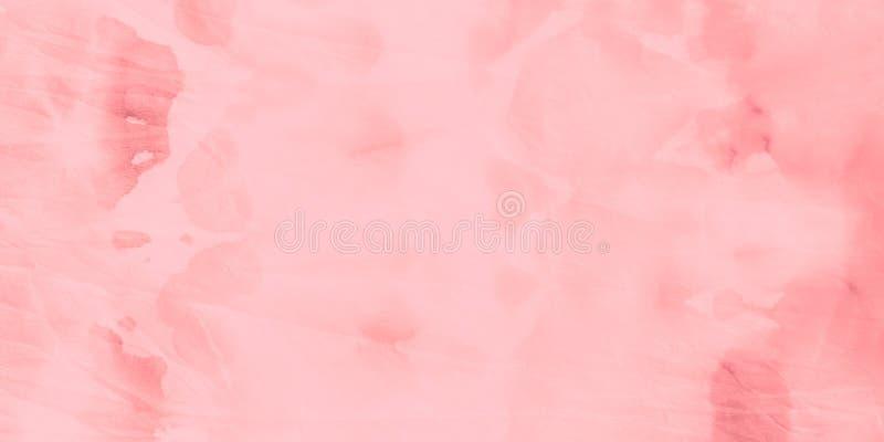 Печать акварели Голубая грязная краска искусства Серебр стоковая фотография rf