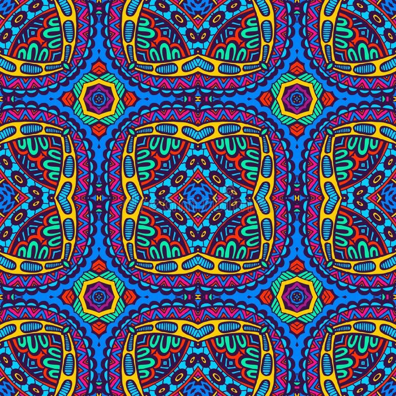 Печать безшовного вектора красочная геометрическая бесплатная иллюстрация