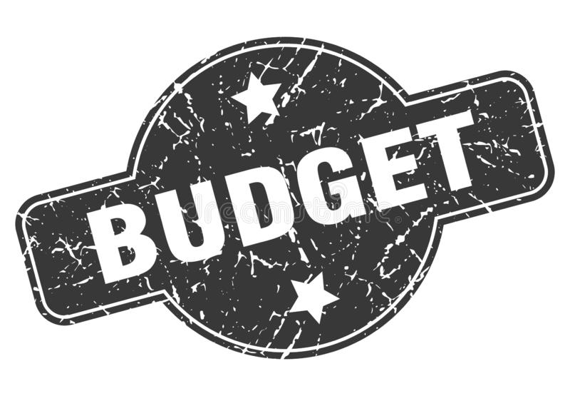 печать бюджета бесплатная иллюстрация