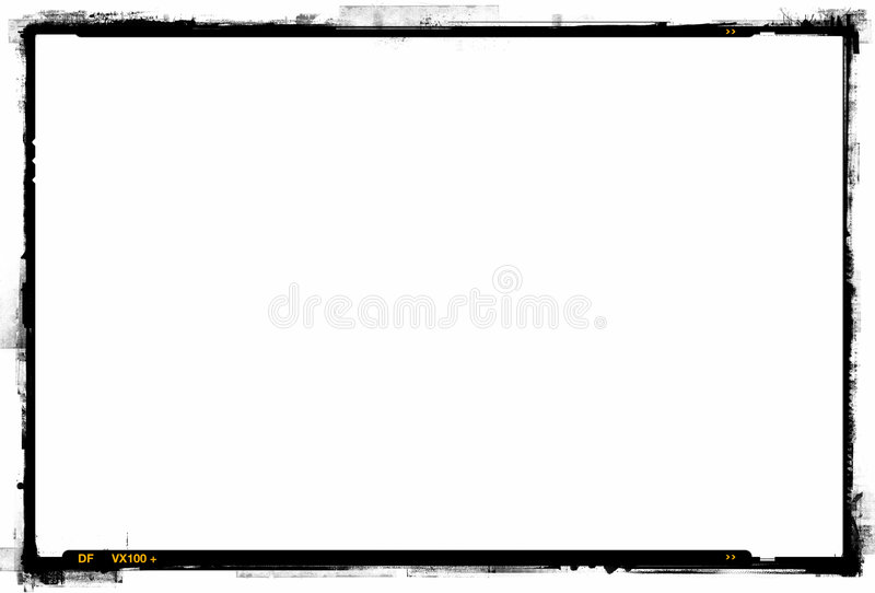 печать граници 35mm стоковая фотография rf
