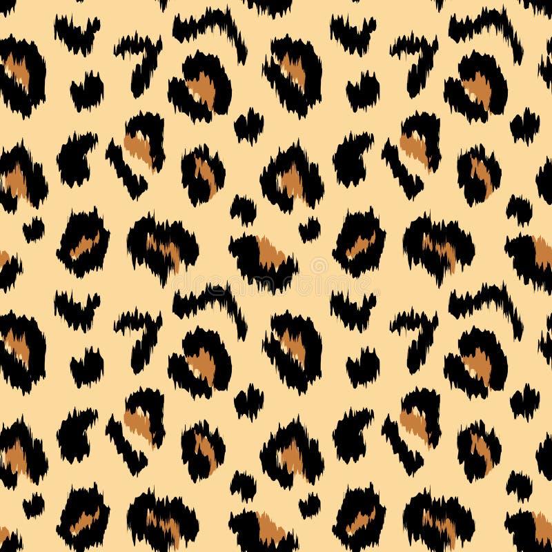 Печать леопарда бесплатная иллюстрация