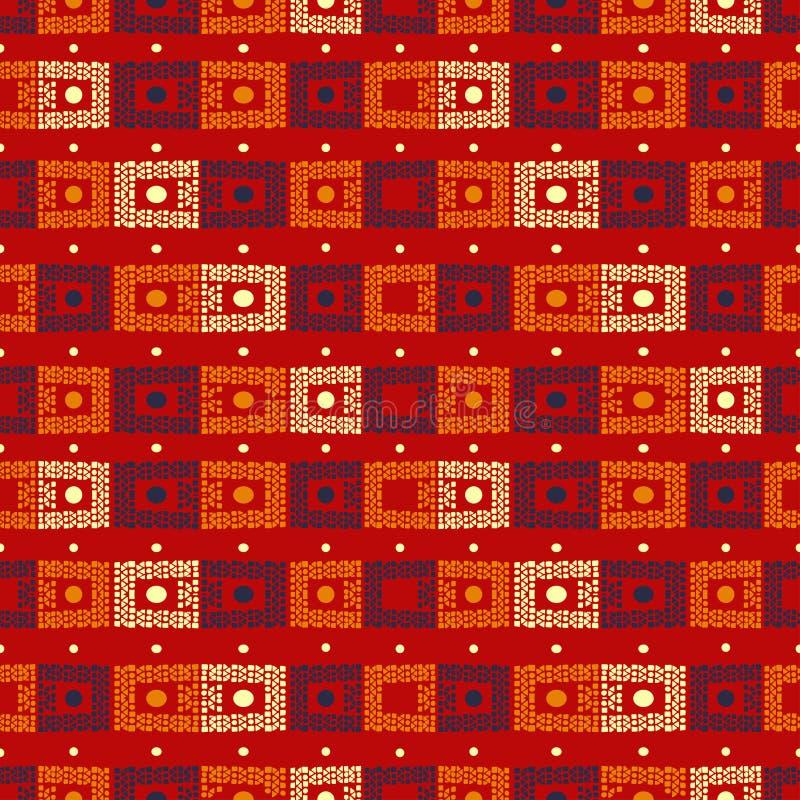 Печать моды ткани этническая красочная E бесплатная иллюстрация