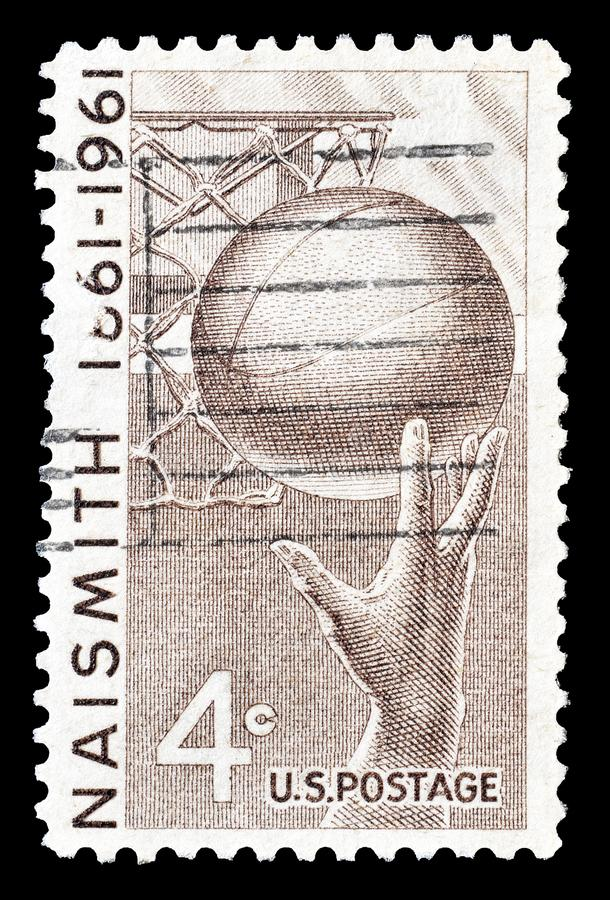 Печать почтового сбора напечатанная США стоковые фотографии rf
