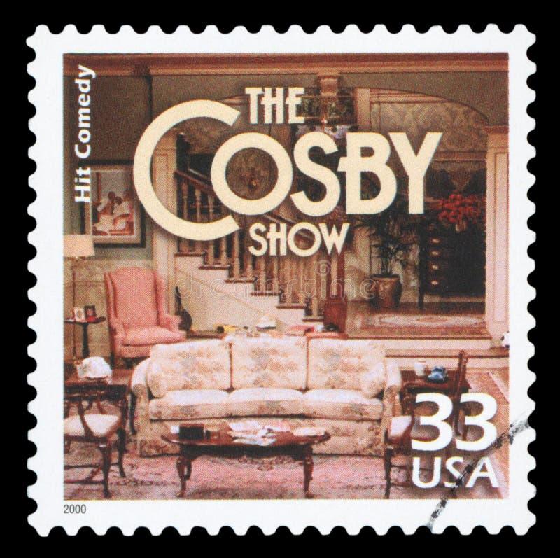 Печать почтового сбора США стоковое фото