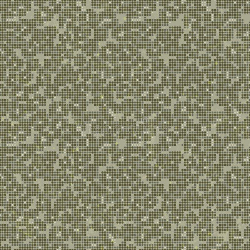 Печать Camo. Безшовная текстура вектора. иллюстрация вектора