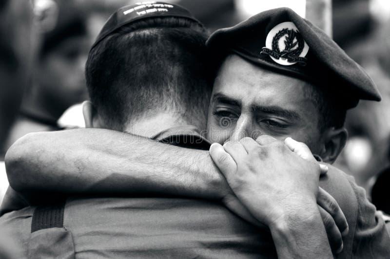 Печаль солдат стоковое фото