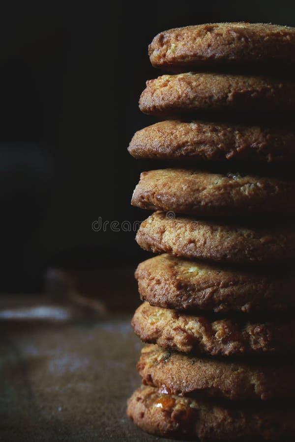 Печений несколько конца-вверх сделанных в малый штендер стоковое фото
