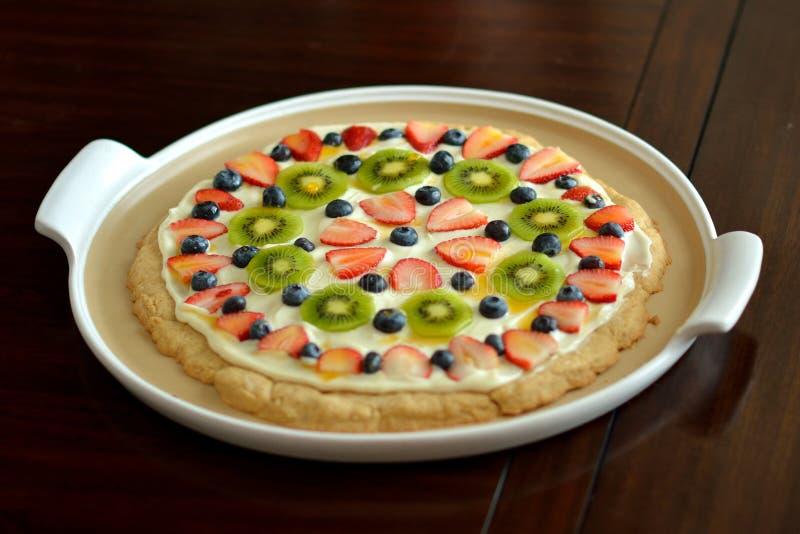Печенье десерта плодоовощ стоковое фото
