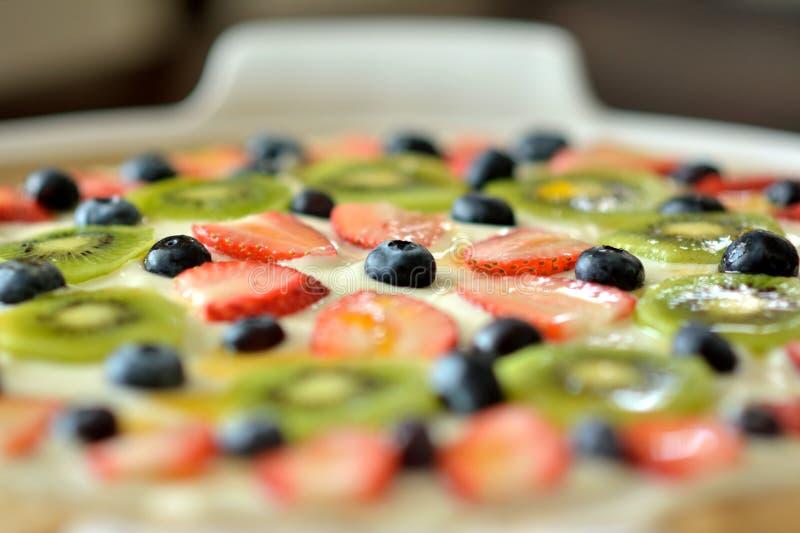 Печенье десерта плодоовощ стоковое изображение