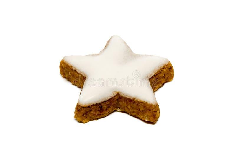Печенье звезды циннамона стоковая фотография