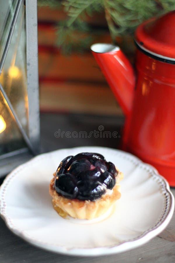 Печенье на белой плите стоковые фото