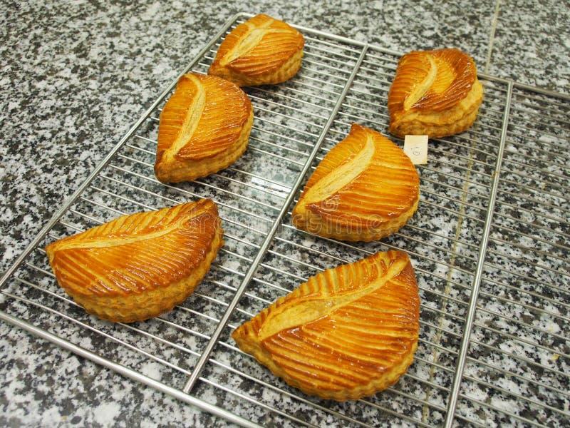 Печенье оборачиваемости плодоовощ, мраморная поверхность стоковое изображение