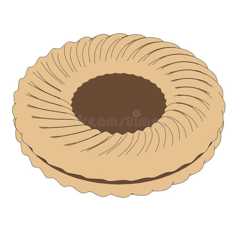 Печенье (печенье) иллюстрация вектора