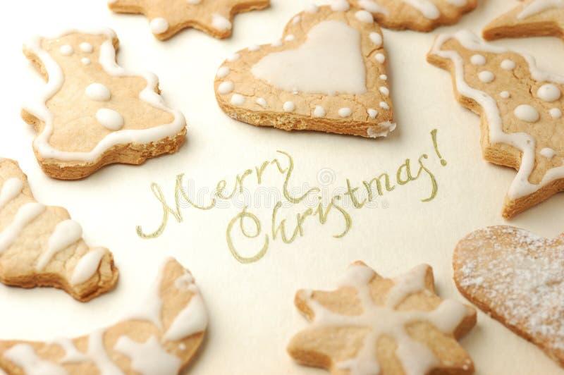 печенье рождества стоковое изображение
