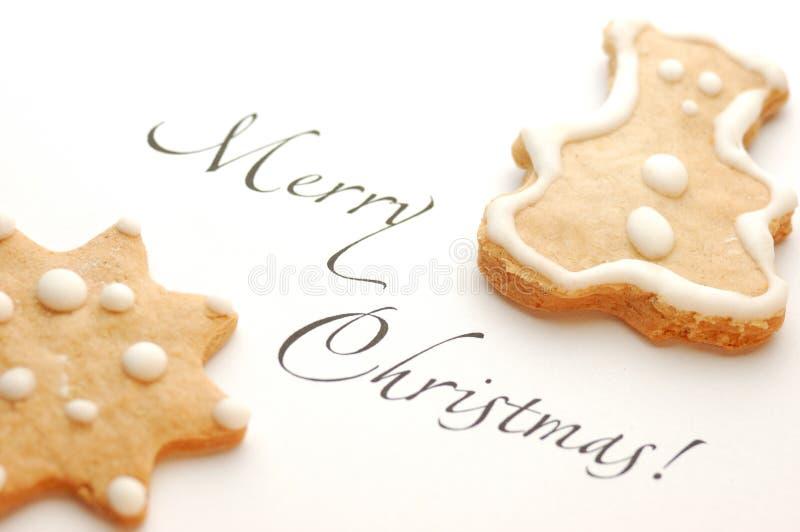 печенье рождества стоковые изображения