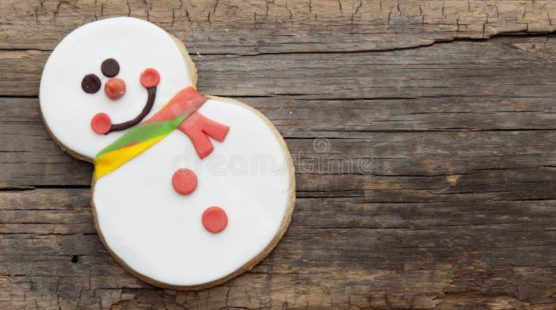 Печенье снеговика стоковые изображения rf