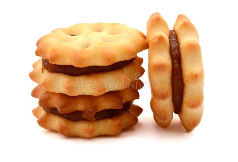 Печенье с вареньем ананаса стоковая фотография