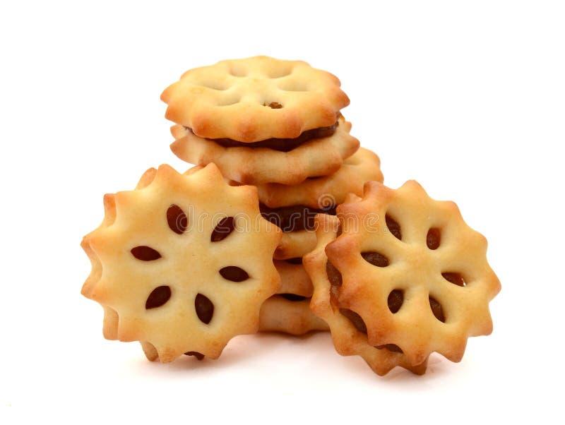Печенье с вареньем ананаса стоковое изображение rf