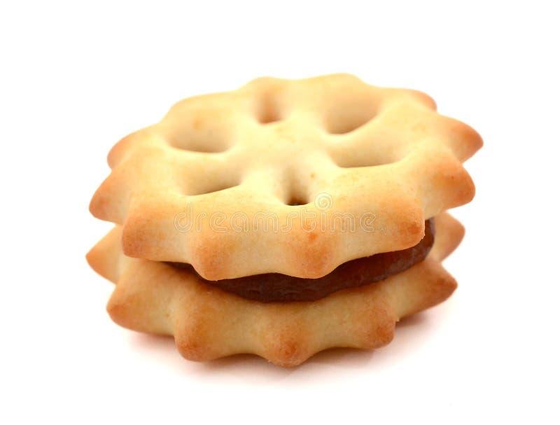 Печенье с вареньем ананаса стоковое фото rf