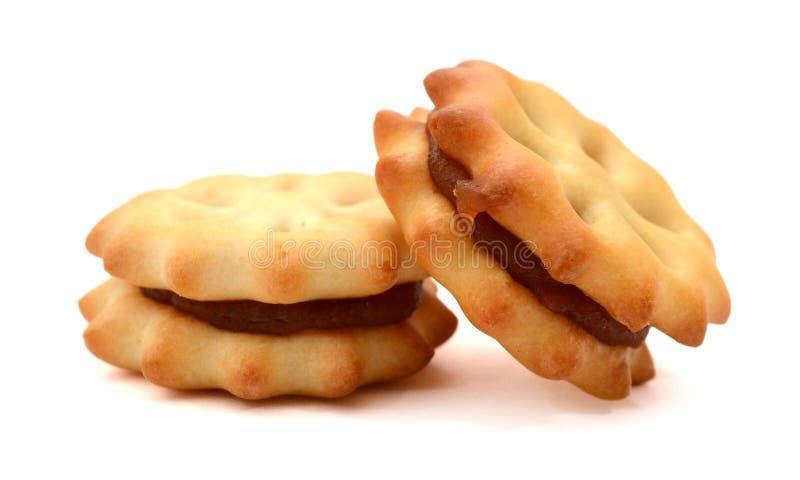 Печенье с вареньем ананаса стоковые изображения rf