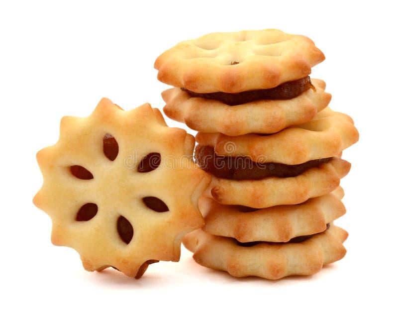 Печенье с вареньем ананаса стоковые фотографии rf