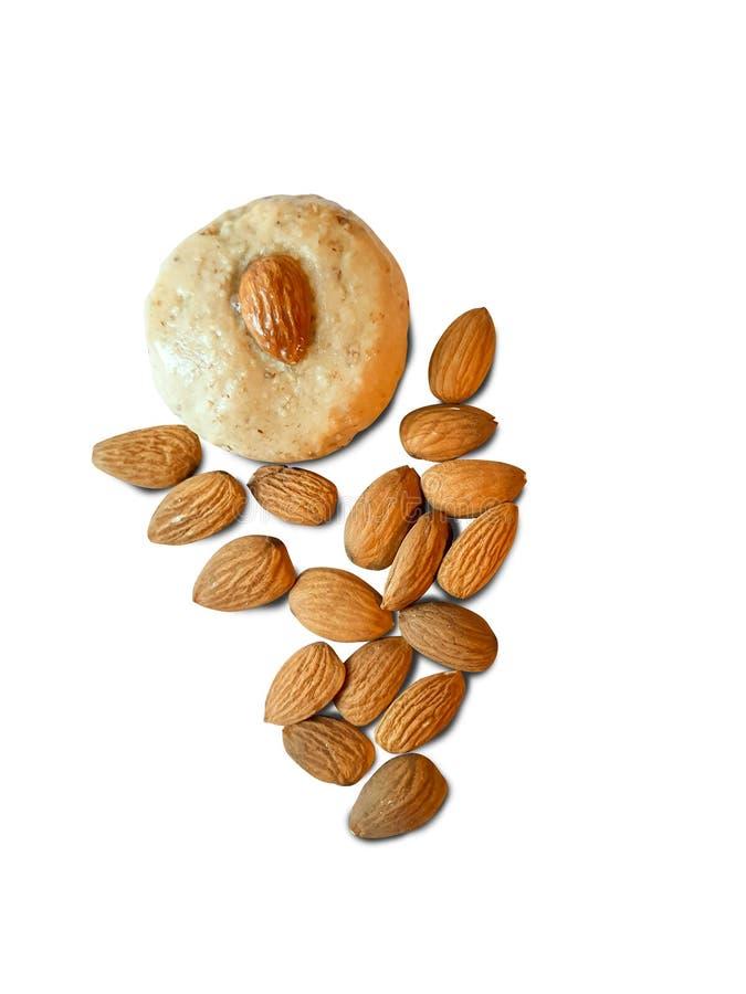 Печенье с миндалем стоковое фото rf