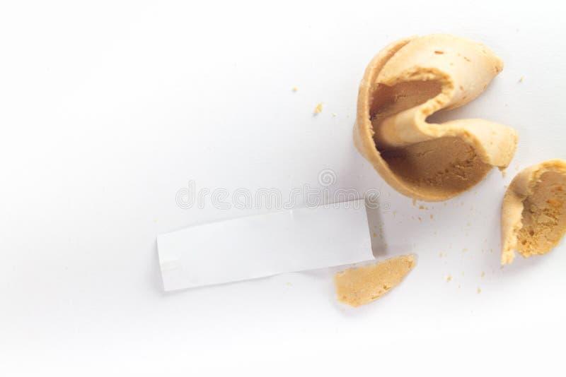 Печенье с предсказанием стоковое фото