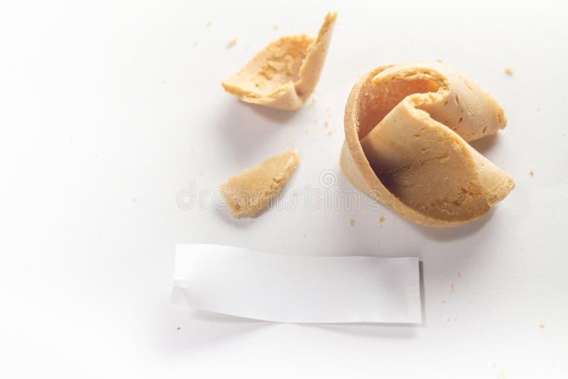 Печенье с предсказанием стоковое изображение rf